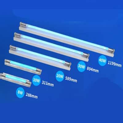 UST002 UV Ozone Violet Disinfection UV Lamp Tube